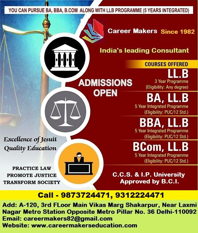 – BEST LL.B. INSTITUTE IN DELHI